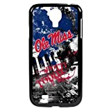 NCAA Mississippi Old Miss Rebels Paulson Designs Spirit Case for Samsung Galaxy S4, Black, Medium
