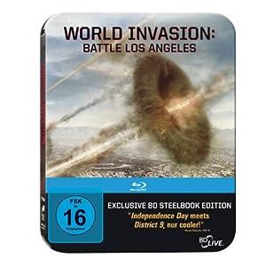 517vJZVT3kL. SL500 AA300  [Blu ray] World Invasion   Battle Los Angeles inkl. Versand 12,90€