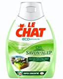 Le Chat - Ecoefficacite Gel - Super Concentre - Savon d'Alep - Flacon 0,925 L / 28 Lavages