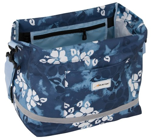 Avenir SoftSide Shopping Pannier (Blue Flower, 1078 Cubic Inches)