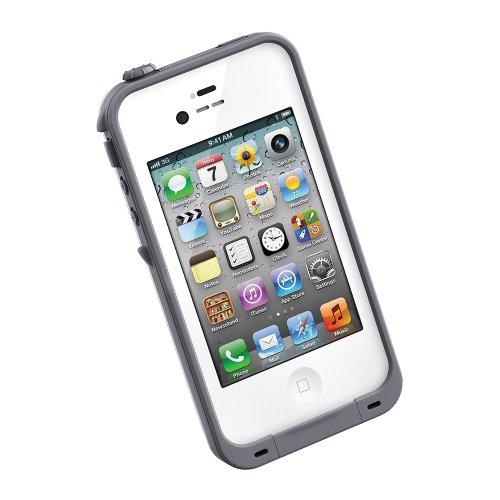 LIFEPROOF iPhone 4/4S Case -Gen2- 防水・防塵・耐衝撃ケース (ホワイト) LPIPH4CS02WH