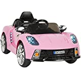 Best Choice Products® 12V Pink Mp3 Kids Ride on Car R/c Remote...