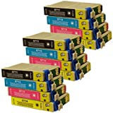 12 CiberDirect Compatible Ink Cartridges for use with Epson Stylus SX215 Printers.