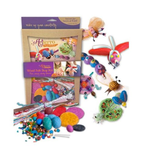 Artterro Wool Felt Bug Kit - 1