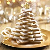 Lakeland 3D Christmas Tree 10pc Cookie Cutter Set & 3 Icing Bags & 2 Nozzles
