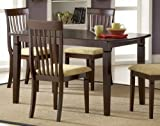 Hillsdale Verona Rectangle Dining Table, Cappuccino
