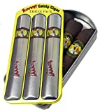 YEOWWW! CATNIP TOY ★ 3 PACK CATNIP CIGARS IN CASE ★ MADE IN USA