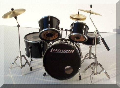 CHEAP LUDWIG Miniature Mini Drum Set DrumsetARTSTUDIO35.com ...