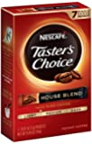 Nescafe Taster's Choice House Blend Instant Coffee, 7 Count Single Serve Sticks (Pack of 12)
