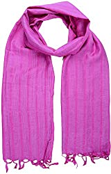 Sahiba Creation trendy and colourful women stole for all time wear(pink)