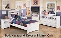Signature Design by Ashley - Zayley 4-Piece Twin Bedroom Set NS