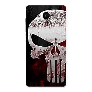 Impressive Bleed Red Skull Back Case Cover for Redmi 2s