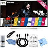 LG 55EG9600 – 55-Inch 2160p 4K Smart Curved Ultra HD 3D OLED TV Hook-Up Bundle includes 55EG9600 – 55-Inch 2160p 4K Smart Curved Ultra HD 3D OLED TV, Screen Cleaning Kit, HDMI to HDMI Cable 6′ x 2, 6 Outlet Wall Tap w/ 2 USB Ports and Microfiber Cloth