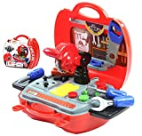 Happy Cherry Maletín de Kit de Herramientas Aparatos de Simulación con Muchos Accesorios Juguete Infantil para Niños Niñas