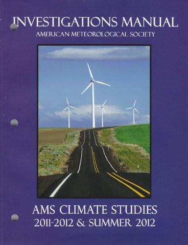 AMS Climate Studies - Investigations Manual