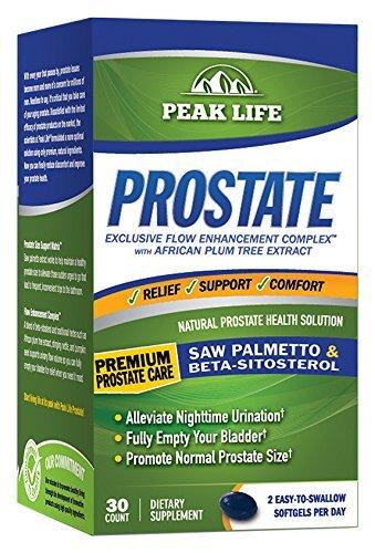 Peak Life Natural Prostate Health Solution, 30 Count by Peak Life (Prostate Peak Life compare prices)