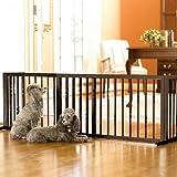 "20-inch Freestanding Gate - 27""-40""W - Frontgate Dog Gate"
