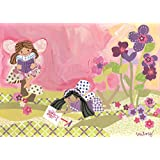 Oopsy daisy Fairy Story Time Stretched Canvas Wall Art by Winborg Sisters, 14 by 10-Inch
