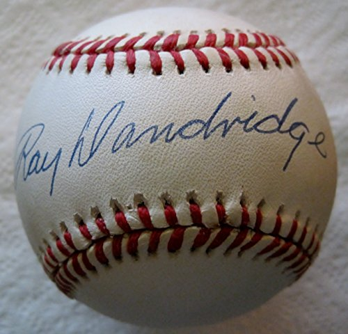 RAY DANDRIDGE Autographed National League Baseball (JSA)