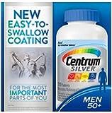 Centrum Silver Men 50+ Multivitamin Multimineral Supplement 250 Tablets