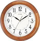 CITIZEN ( リズム時計 ) 蓄光搭載の クオーツ 掛時計 ナチュライトM788 8MG788-006