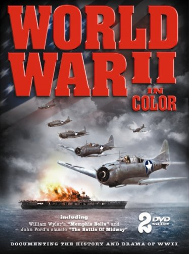 Cover art for  WWII in Color