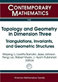 img - for Topology and Geometry in Dimension Three: Triangulations, Invariants, and Geometric Structures (Contemporary Mathematics) book / textbook / text book