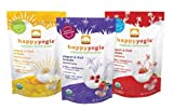 Organic Baby Food Happy Yogis Yogurt Snacks 1 Oz Banana Mango, 1 Oz Mixed Berry and 1 Oz Strawberry Made in USA