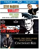 Bullitt / Cincinnati Kid / Getaway [Blu-ray] [US Import]