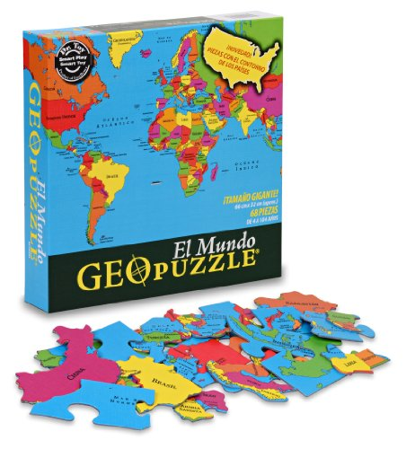 Geotoys GeoPuzzle World (Spanish) - 1