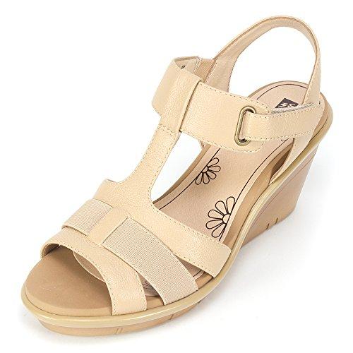 09. White Mountain Women's Big Apple Wedge Sandal