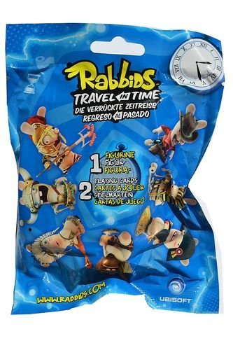 "Rabbids - Travel in Time - Blind Bag Assortment - Rabbids approx 2.75"" tall - Single Bag"