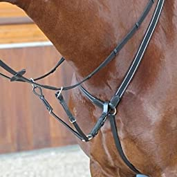 Kincade Elastic English Breastplate with Martingale available NEW Color : Black