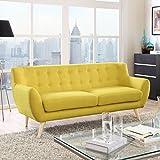 LexMod Remark Sofa, Sunny