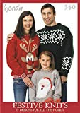 Wendy Festive Knits in DK & Aran - 17 Designs for all the family
