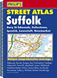 Philip's Street Atlas Suffolk: Spiral Edition