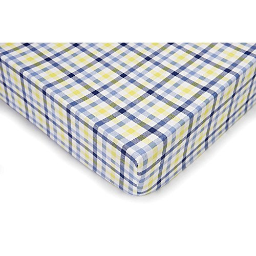 Plaid Crib Sheets front-820769