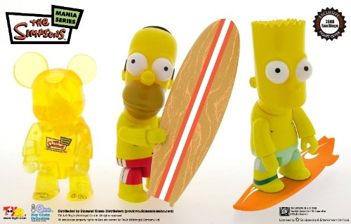 Simpsons Qee Figure Set SDCC Exclusive