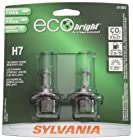 Sylvania H7 EB EcoBright Headlight Bulb, (Pack of 2)