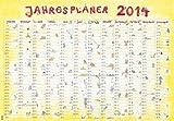 Jahresplaner Cartoon XL 2014 - Plakatkalender 2014 - Wandplaner