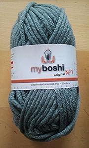myboshi Wolle, No 1, 194 titangrau