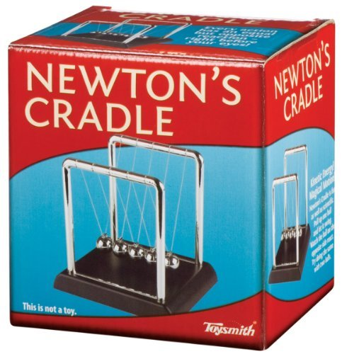 Toysmith Newton'S Cradle Physics Science Kit Toy, Kids, Play, Children front-749284