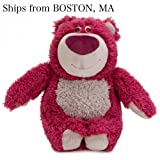 Disney Lotso Pixar Love Huggin Bear Plush 6 Toy Story 3 Smells Like Strawberry - Stuffed Animal Disney Store - Holidays Gifts Valentine