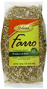 Roland Pearled Italian Farro, 17.6-Ounce Bags (Pack of 3)