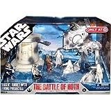 Star Wars 30th Anniversary Saga 2007 Exclusive Action Figure Mega-Pack The Ba...