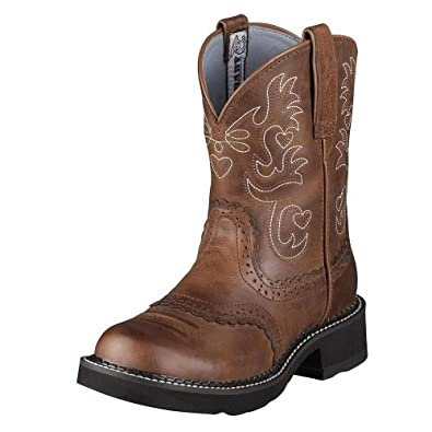 Ariat Women's Fat Cowgirl Boot Sadle Brwn 8 M US