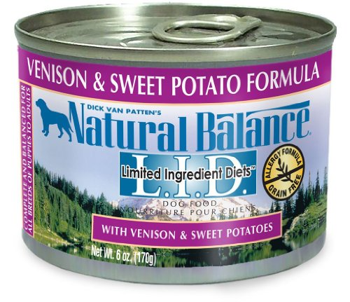 Natural Balance Limited Ingredient Diets Venison and Sweet P