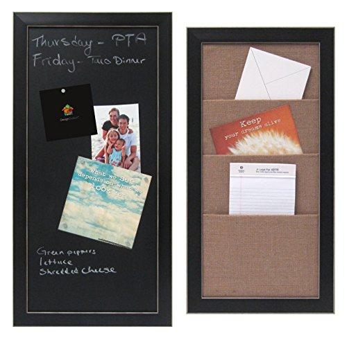 set-of-wyeth-framed-magnetic-chalkboard-and-wyeth-framed-burlap-pockets