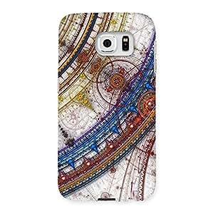Special Sonarp Multicolor Back Case Cover for Samsung Galaxy S6