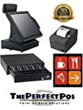 FIRST DATA ALL-IN-ONE POS CASH REGISTER SYSTEM FOR RESTAURANTS